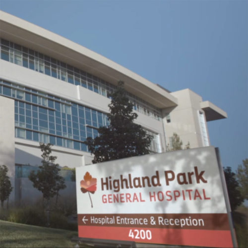 Highland Park logo design