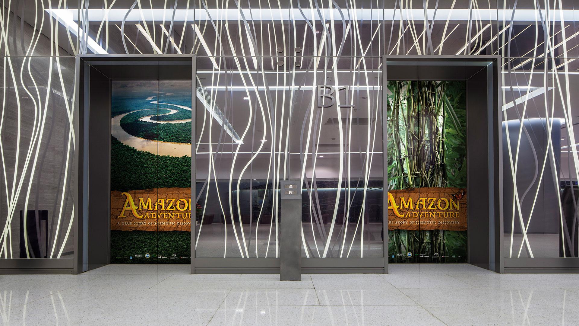 Amazon Adventure elevator wraps