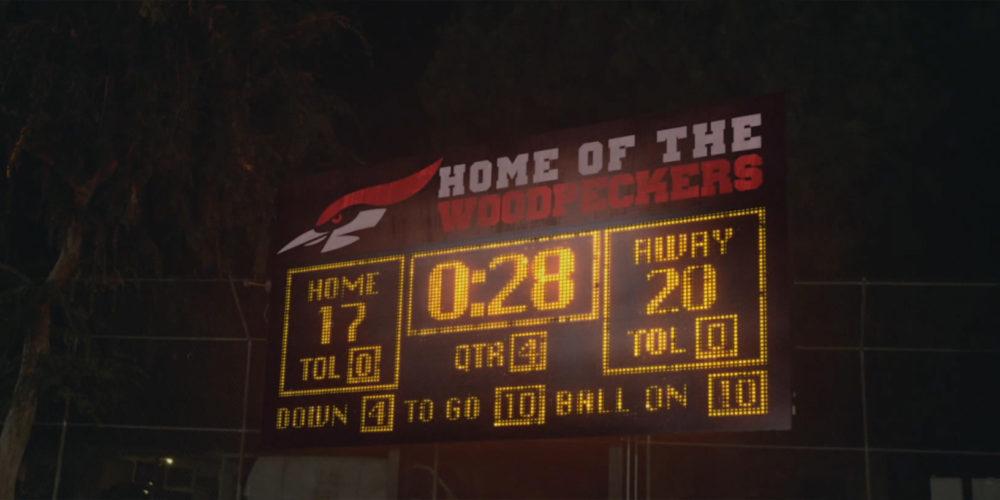 Logo scoreboard design