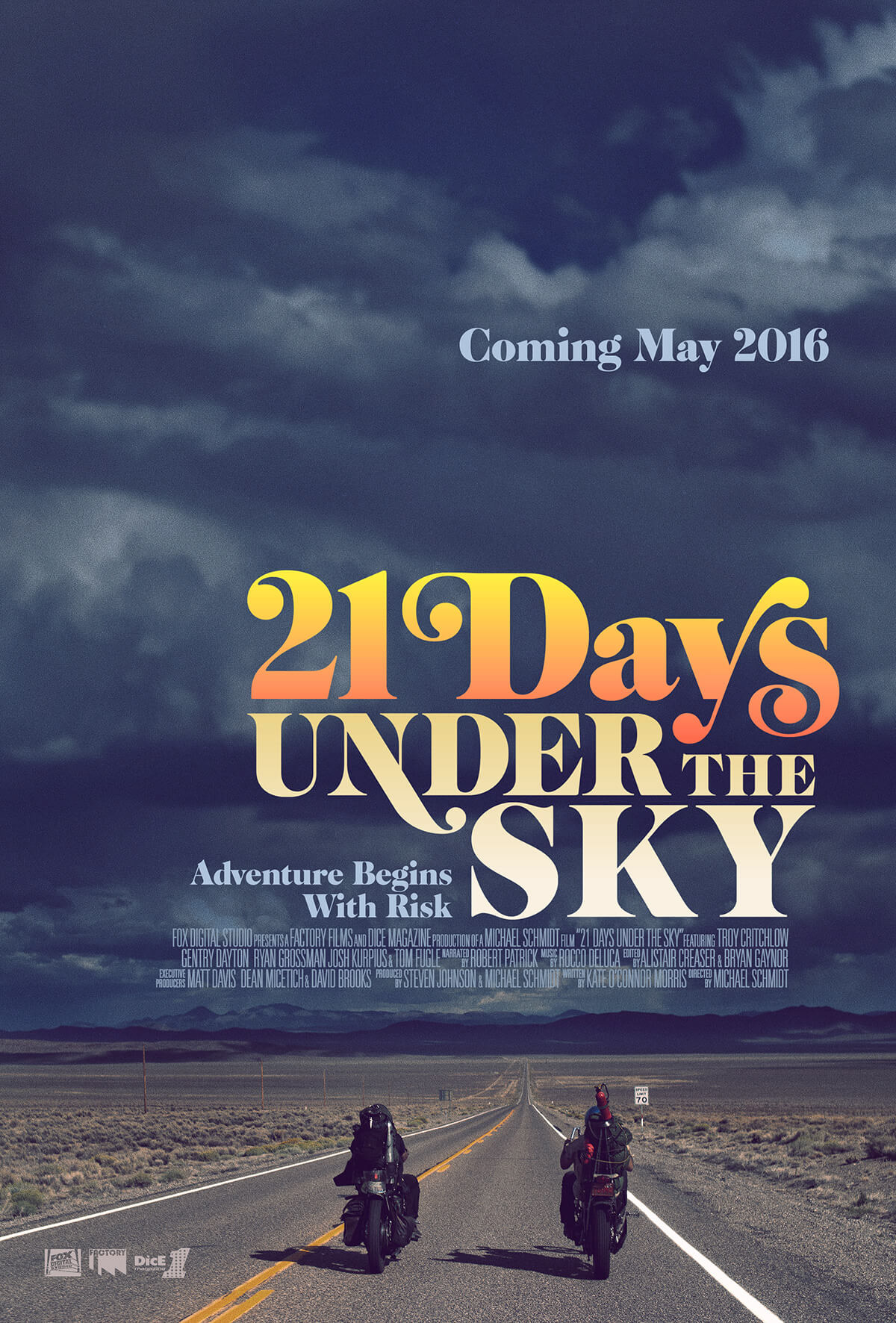 21 Days Under The Sky Movie Poster
