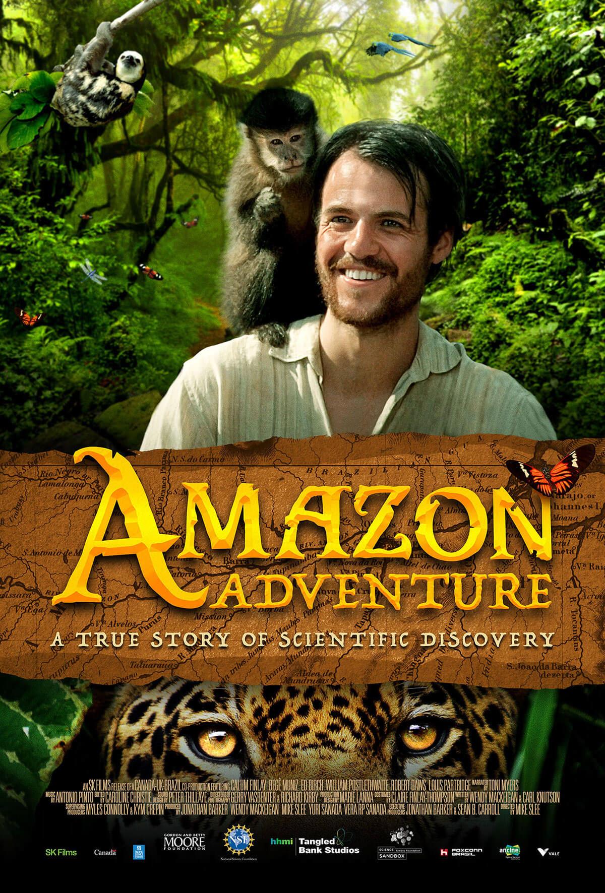 Amazon Adventure Movie Poster