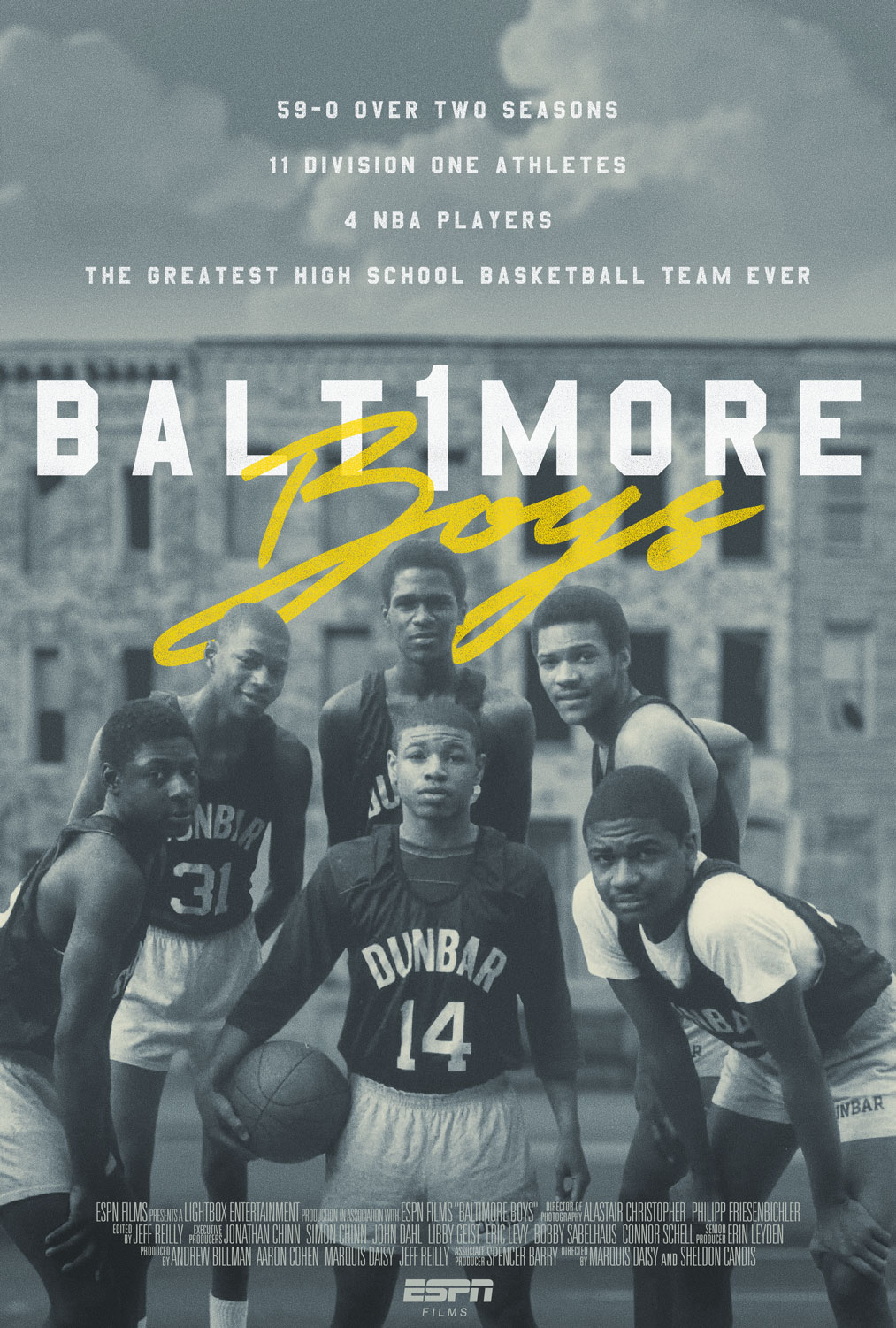 Baltimore Boys Movie Poster