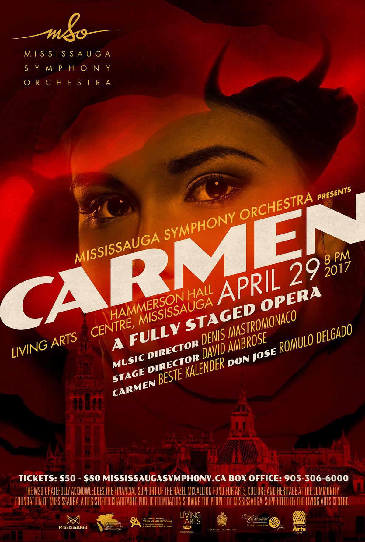 Carmen Opera Poster