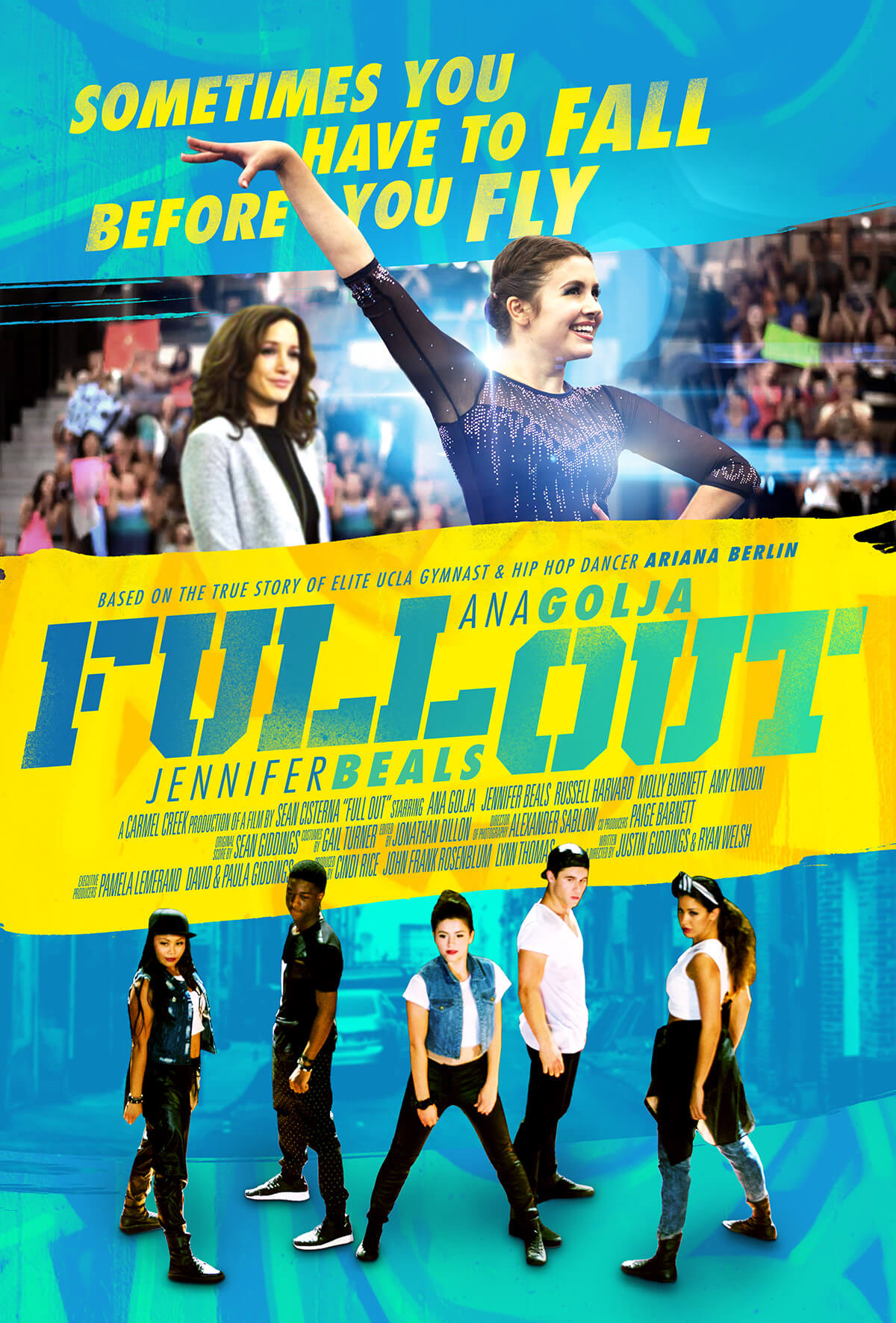 Full Out Movie Poster