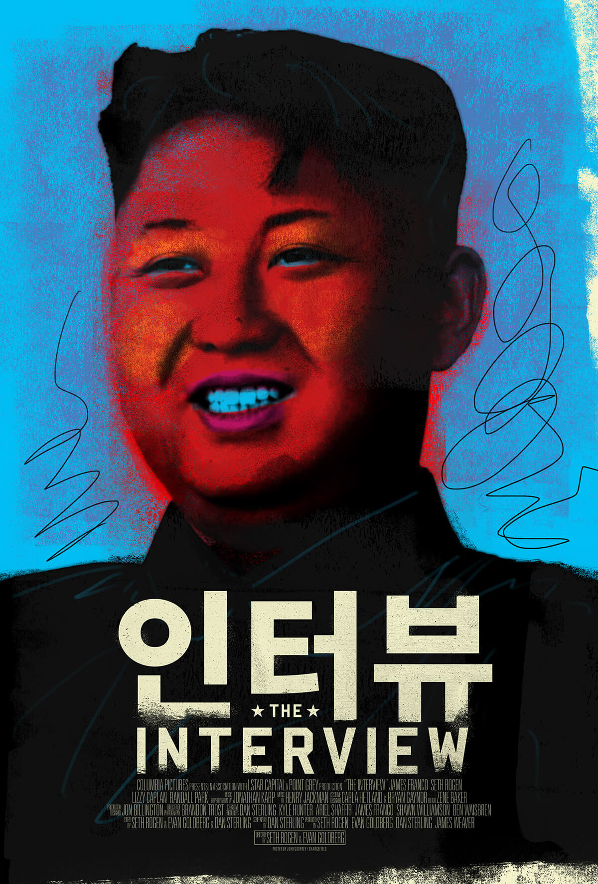 The Interview Alternative Movie Poster