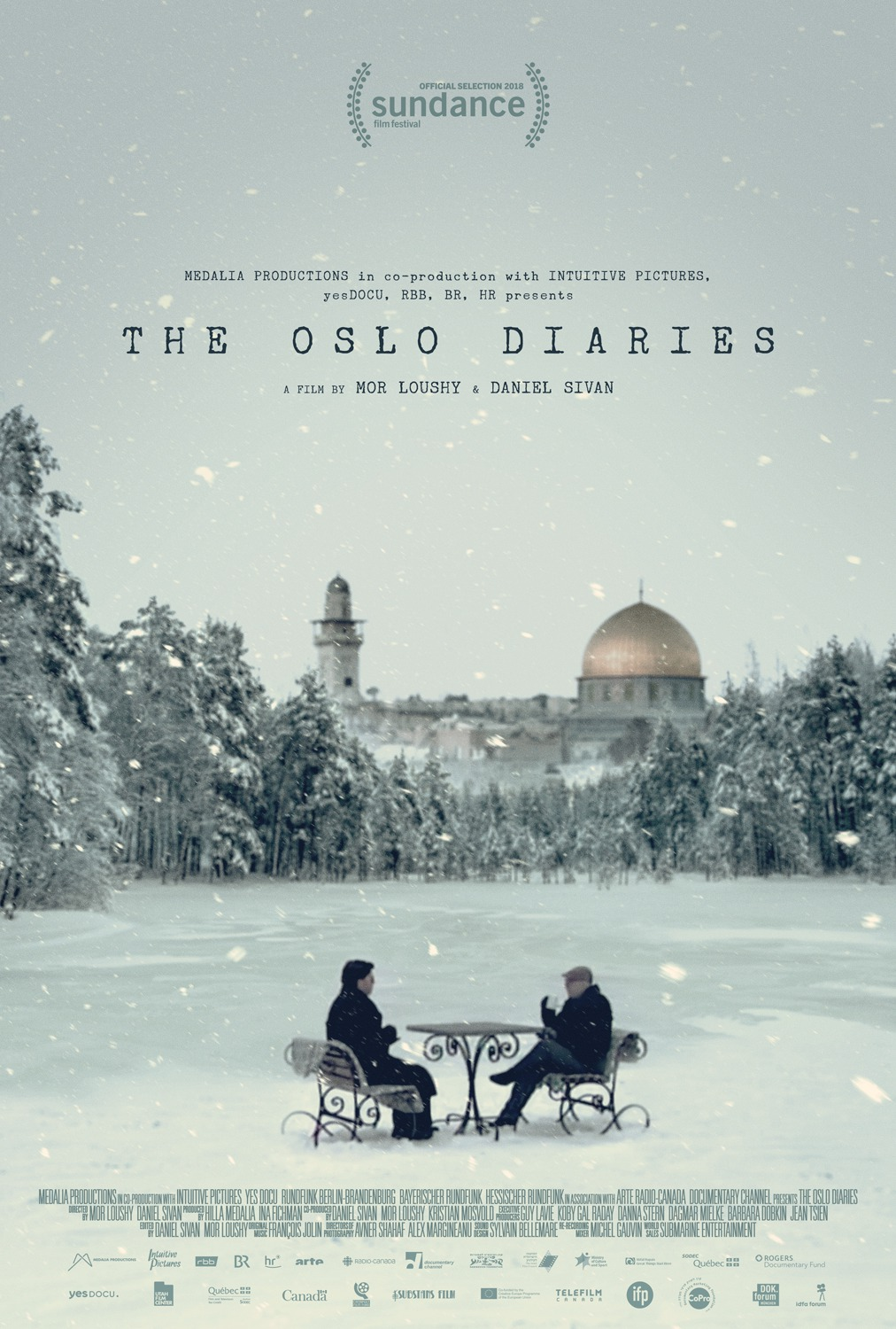 The Oslo Diaries Movie Poster