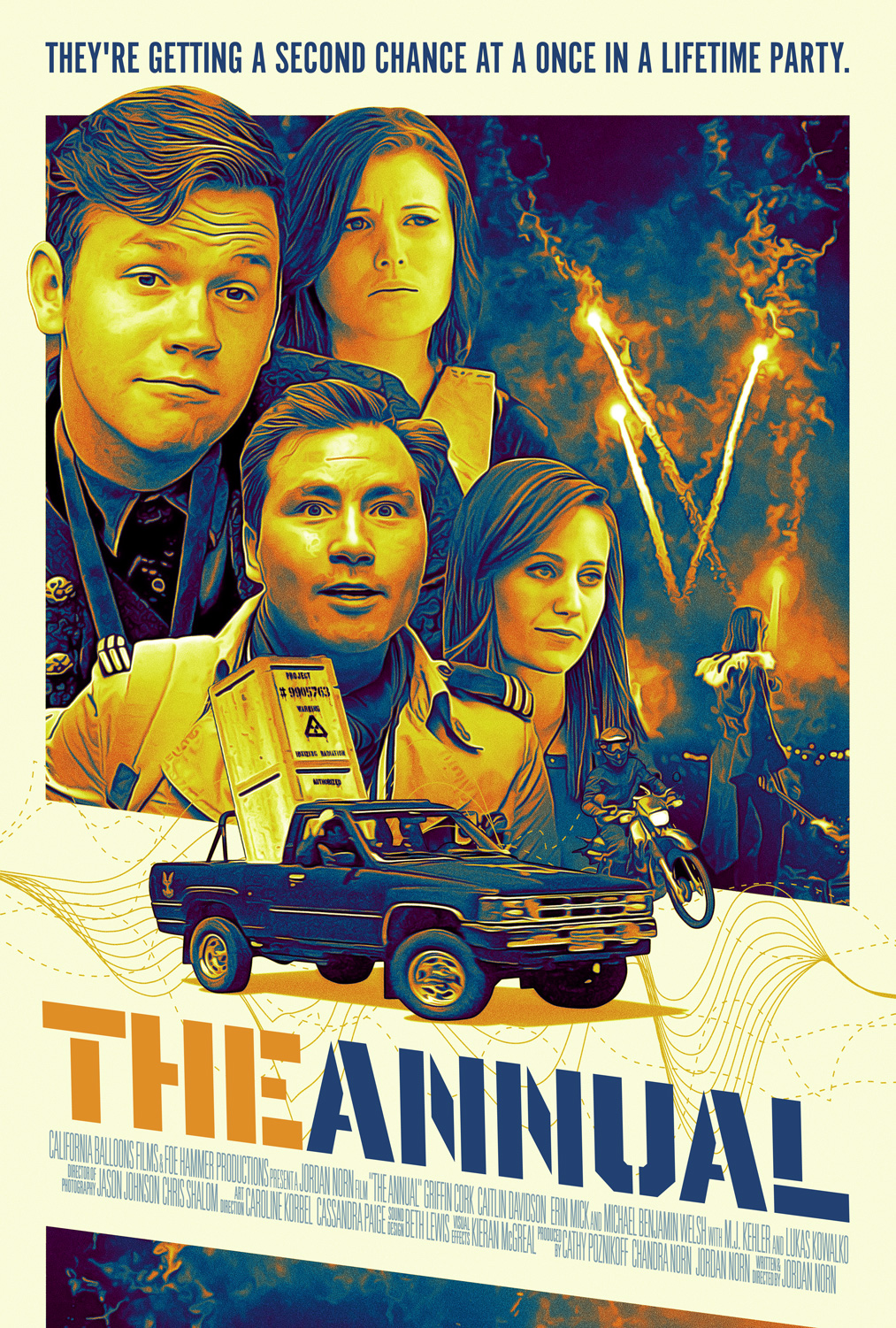 The Annual Movie Poster