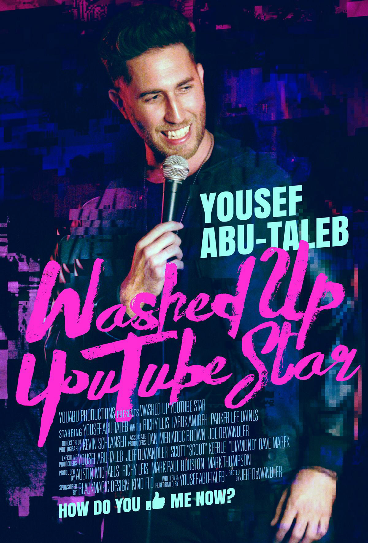 Washed Up YouTube Star Movie Poster