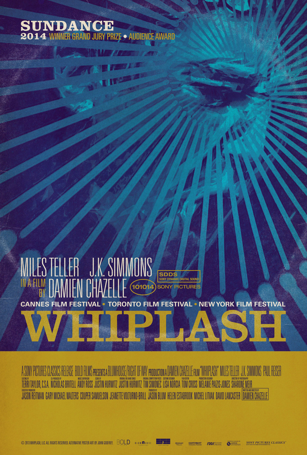 Whiplash Alternative Movie Poster