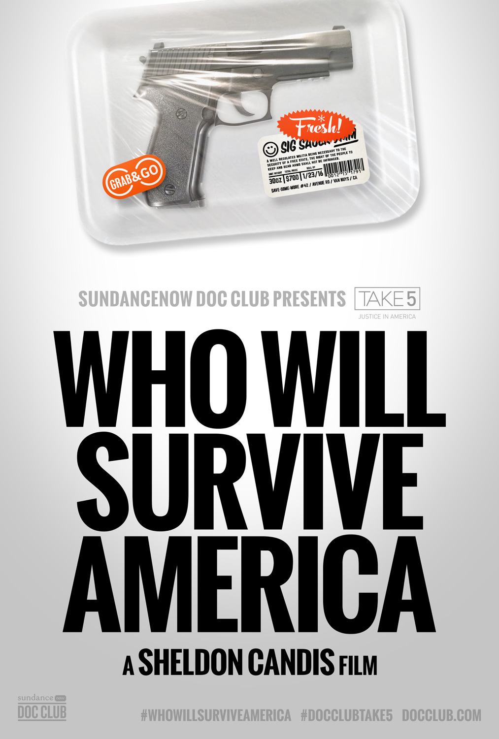 Who Will Survive America Movie Poster