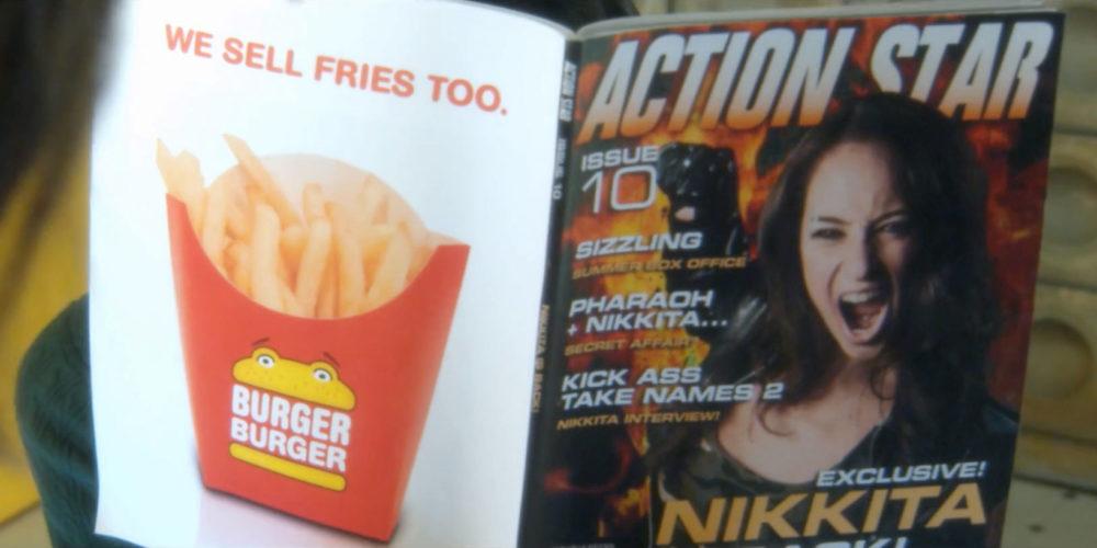 Action Star magazine prop design