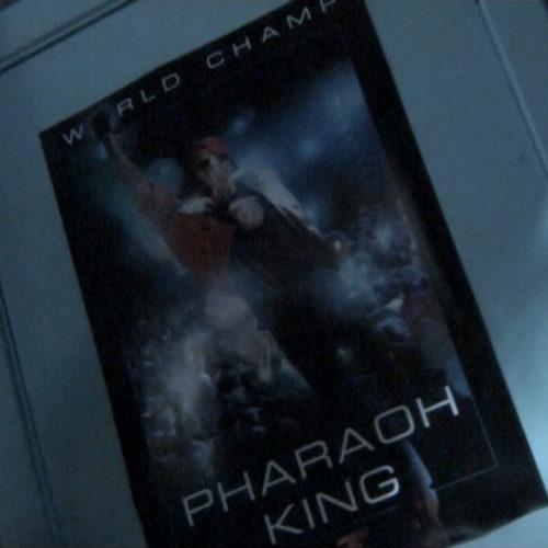 Pharaoh King poster design