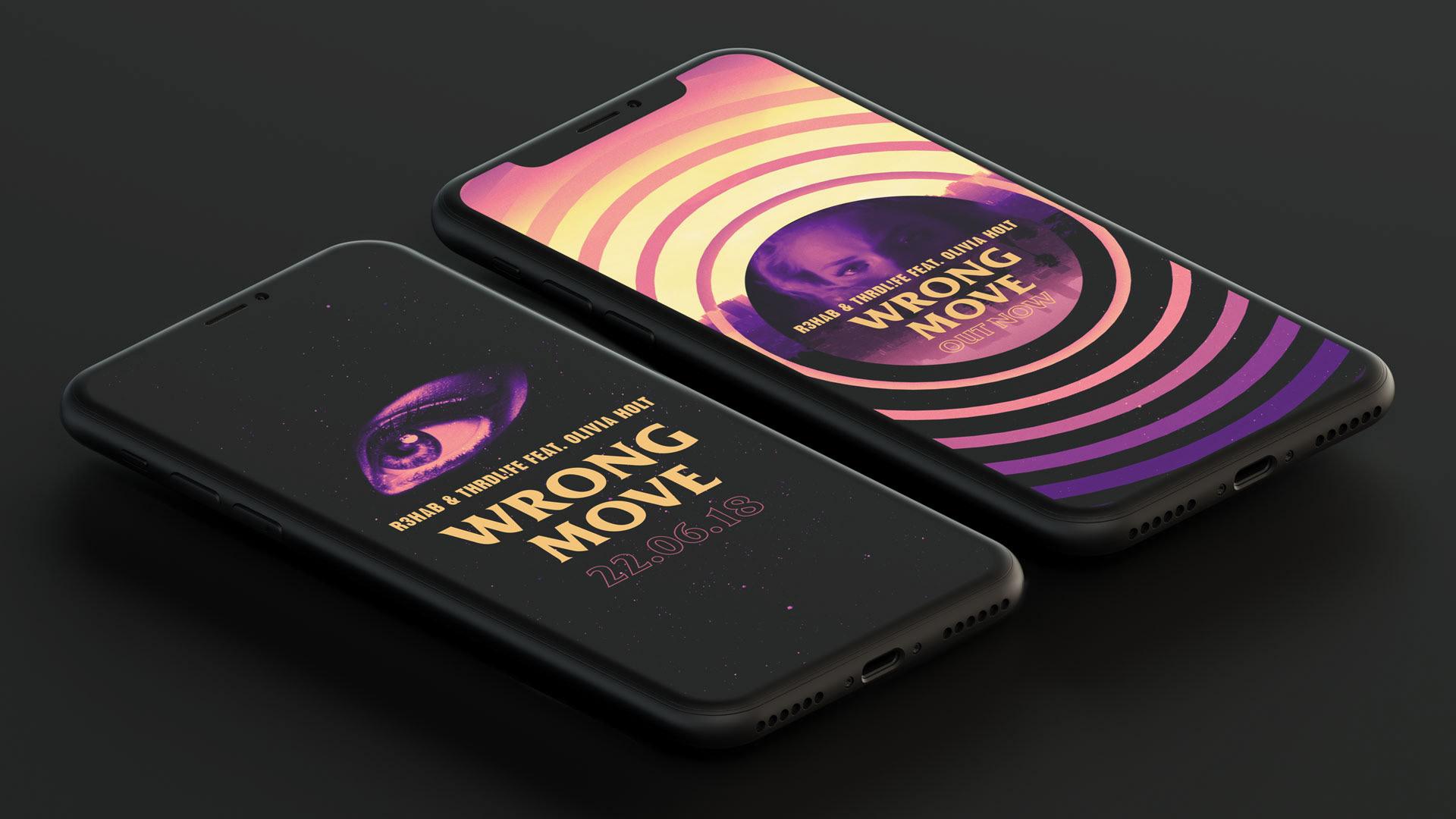 Wrong Move social graphics