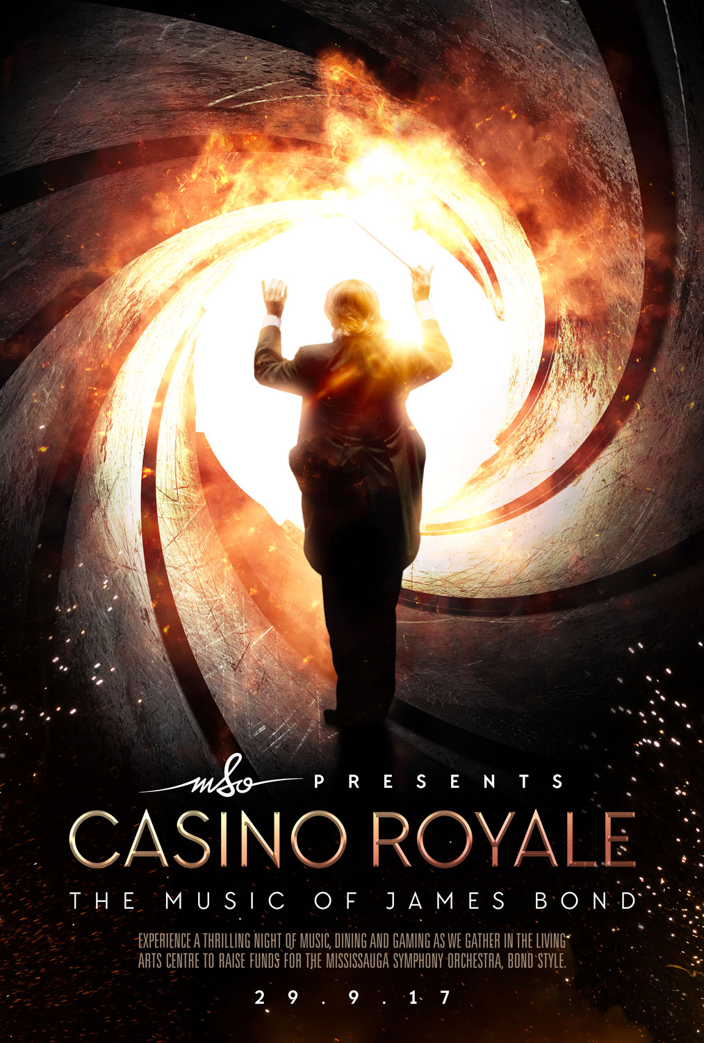Casino Royale concert poster