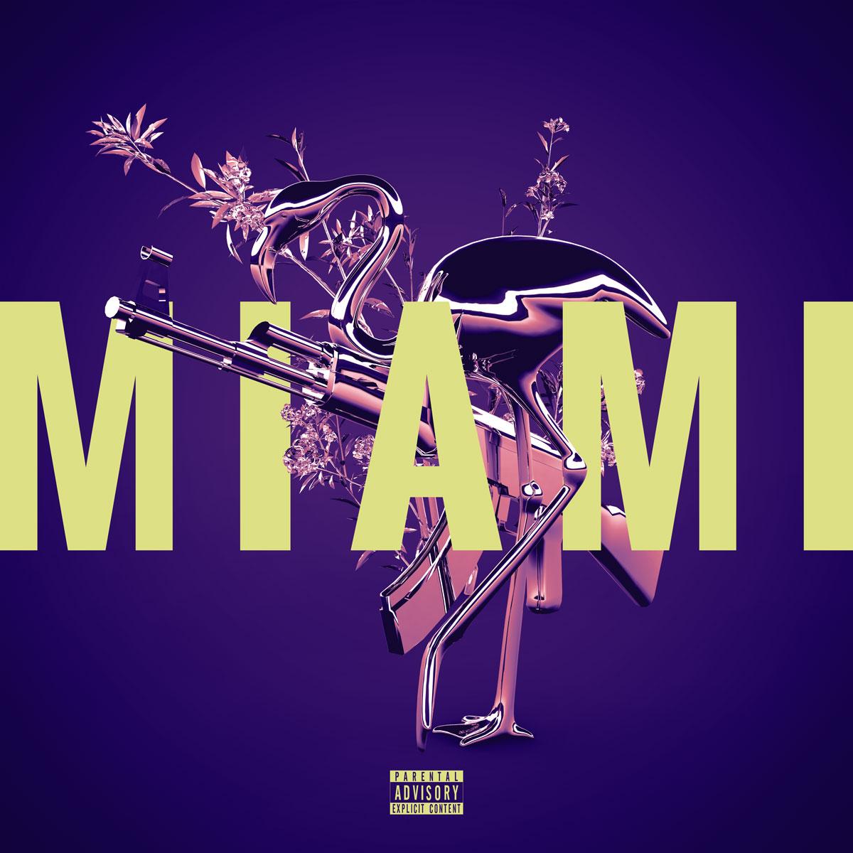 Miami single artwork