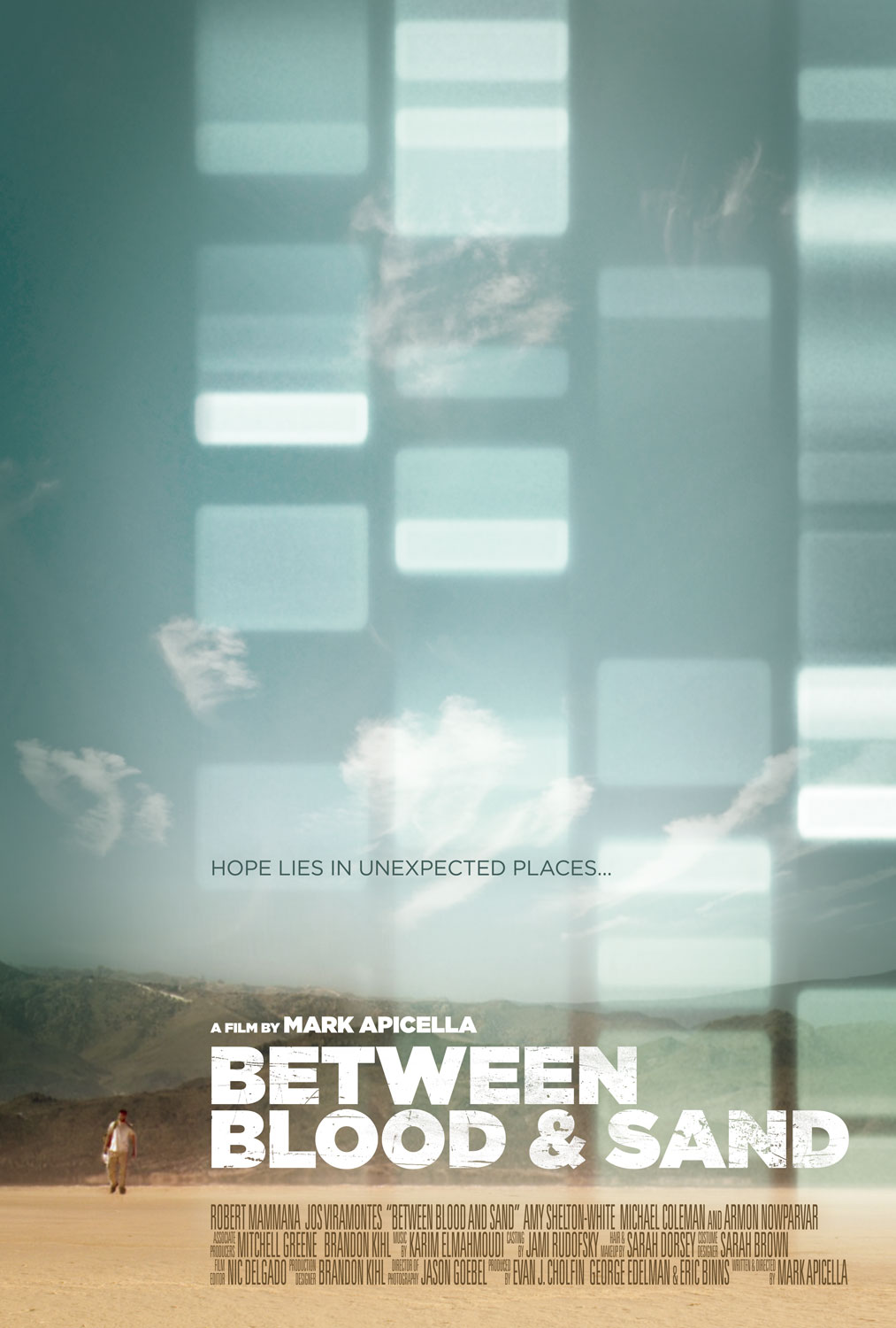 Between Blood and Sand Movie Poster