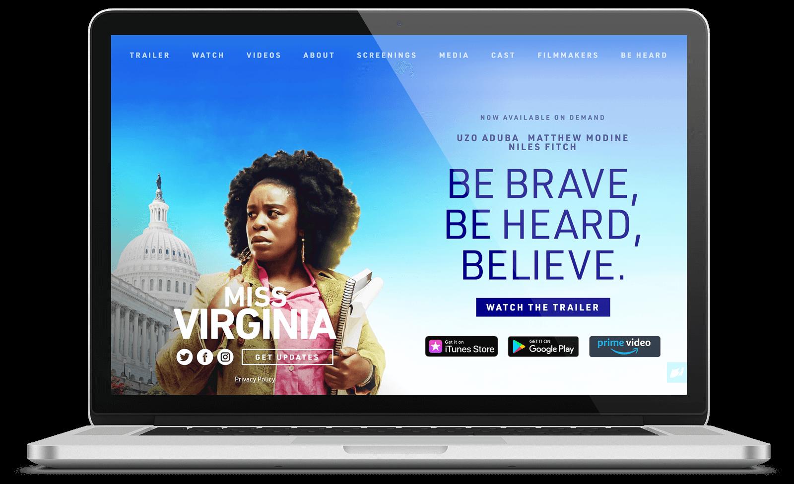 Miss Virginia website