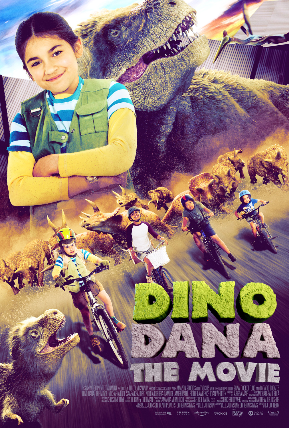 Dino Dana The Movie Poster