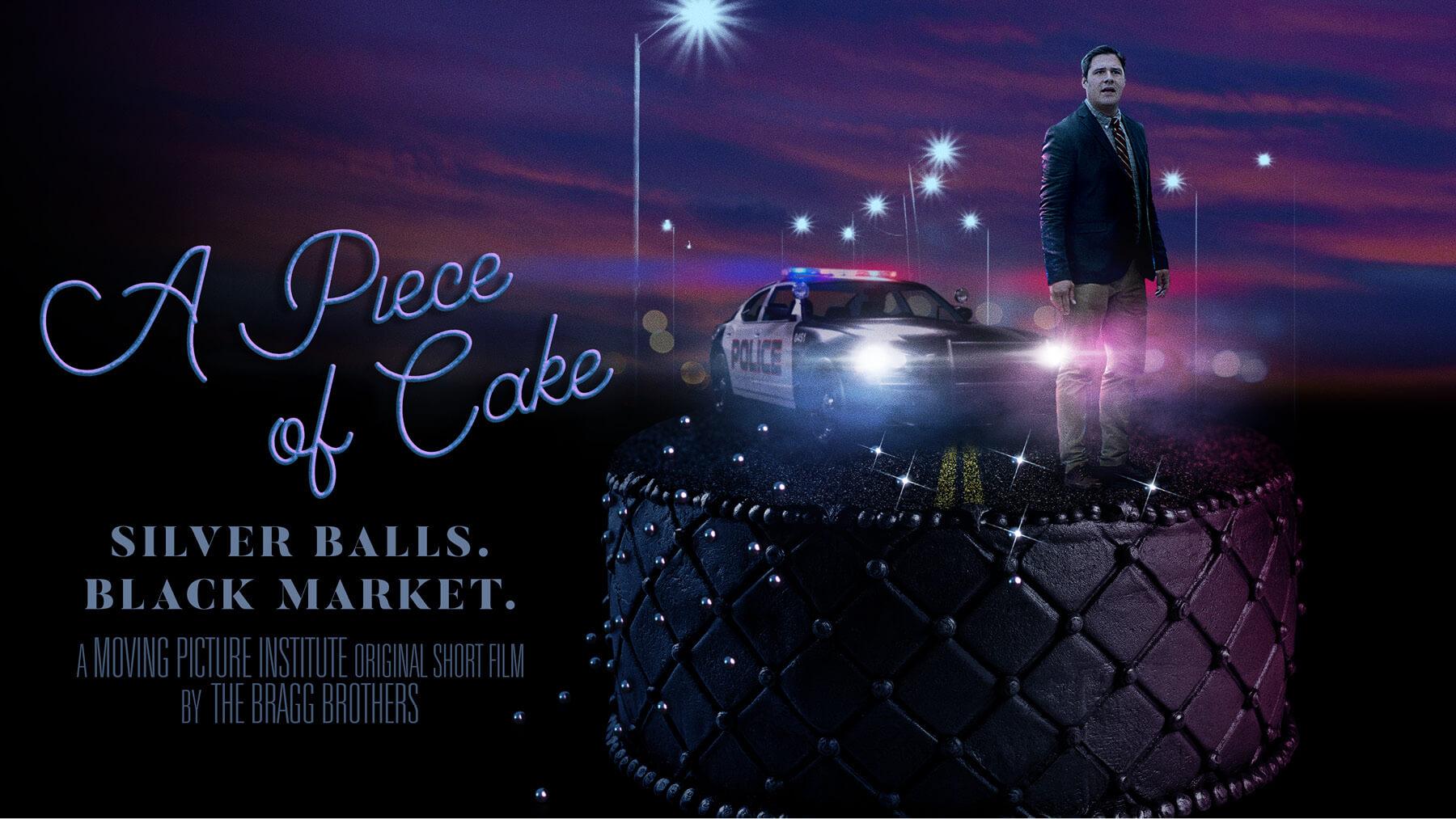 A Piece of Cake EPK design