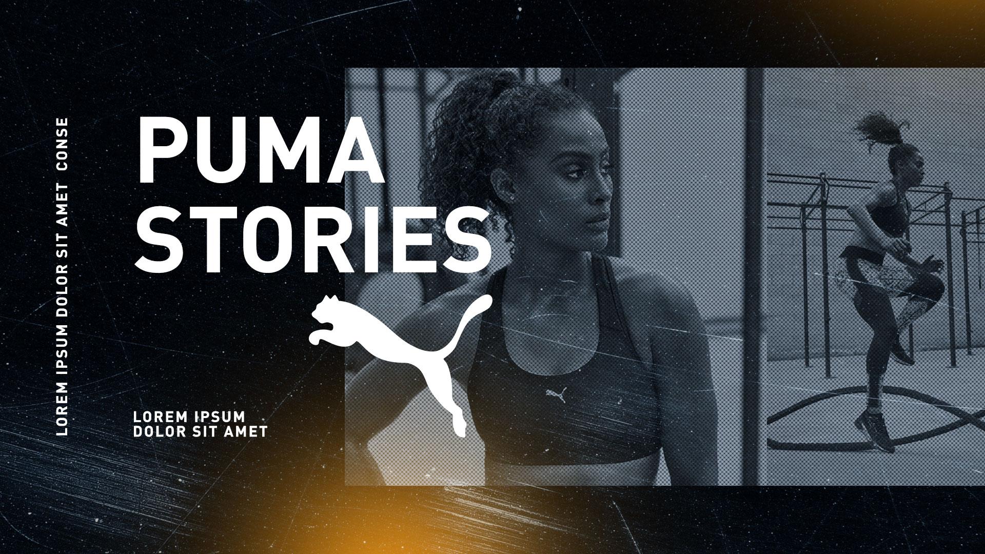 Puma Stories pitch deck