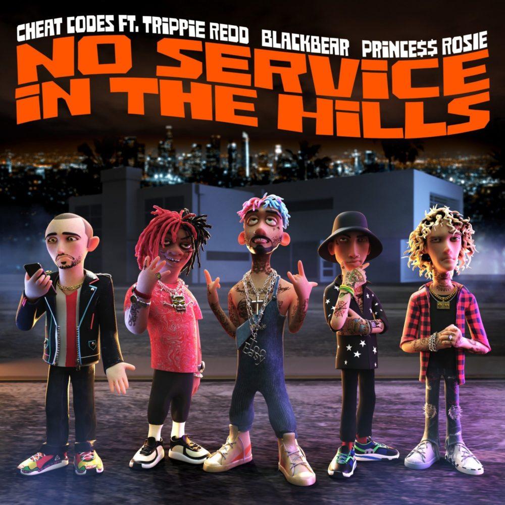 No Service In The Hills single cover design