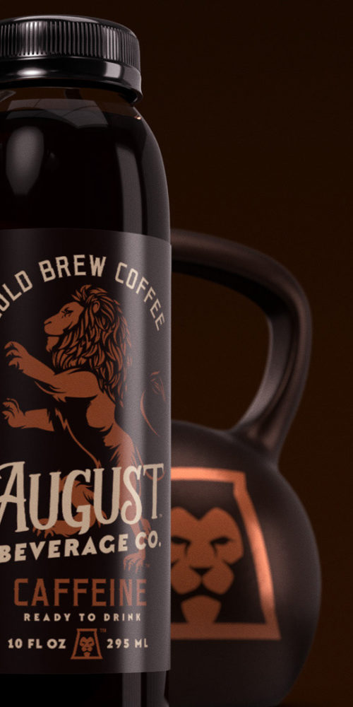 August Beverage Company packaging
