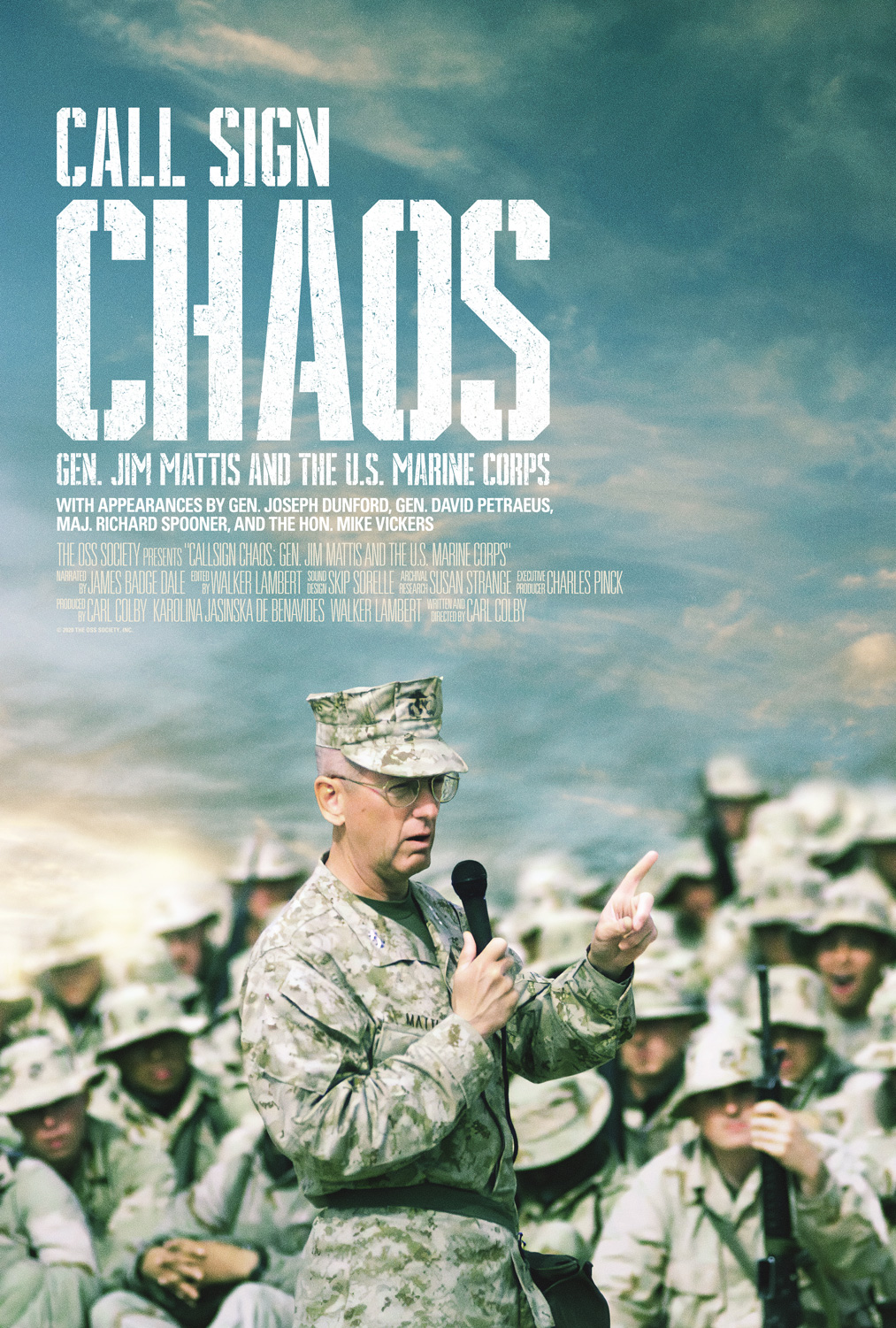 Call Sign CHAOS Movie Poster