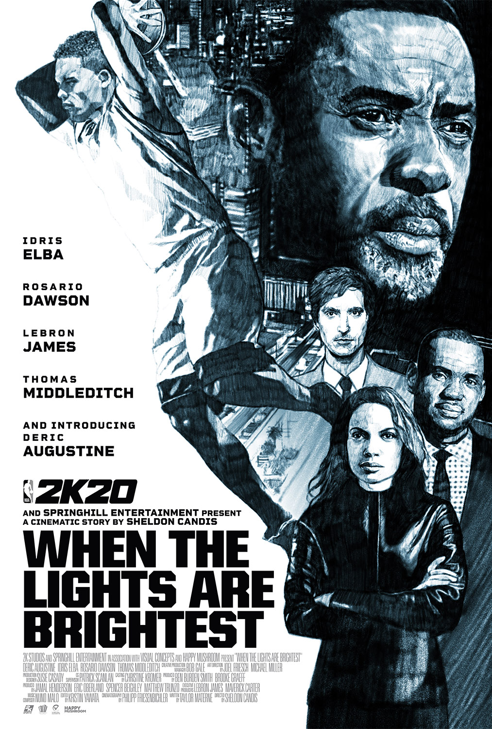 NBA 2K20: When The Lights Are Brightest Movie Poster