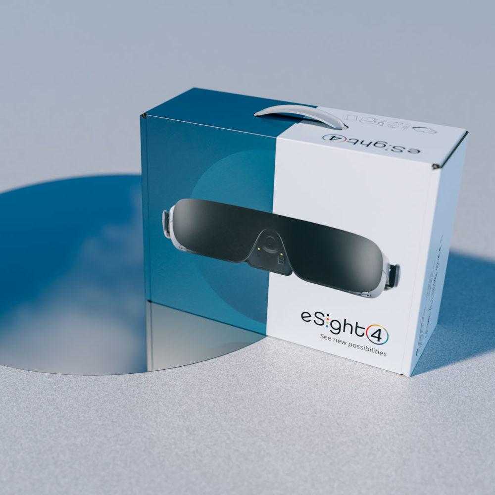 eSight packaging design