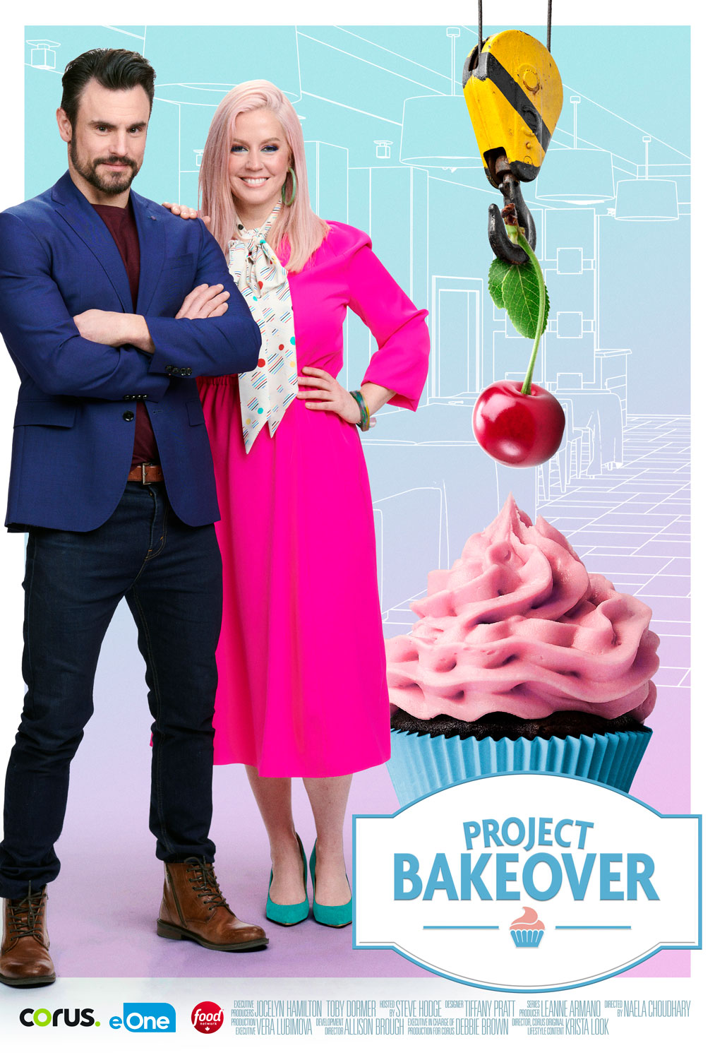 Project Bakeover Poster